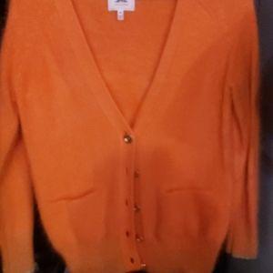 Orange rabbit sweater
